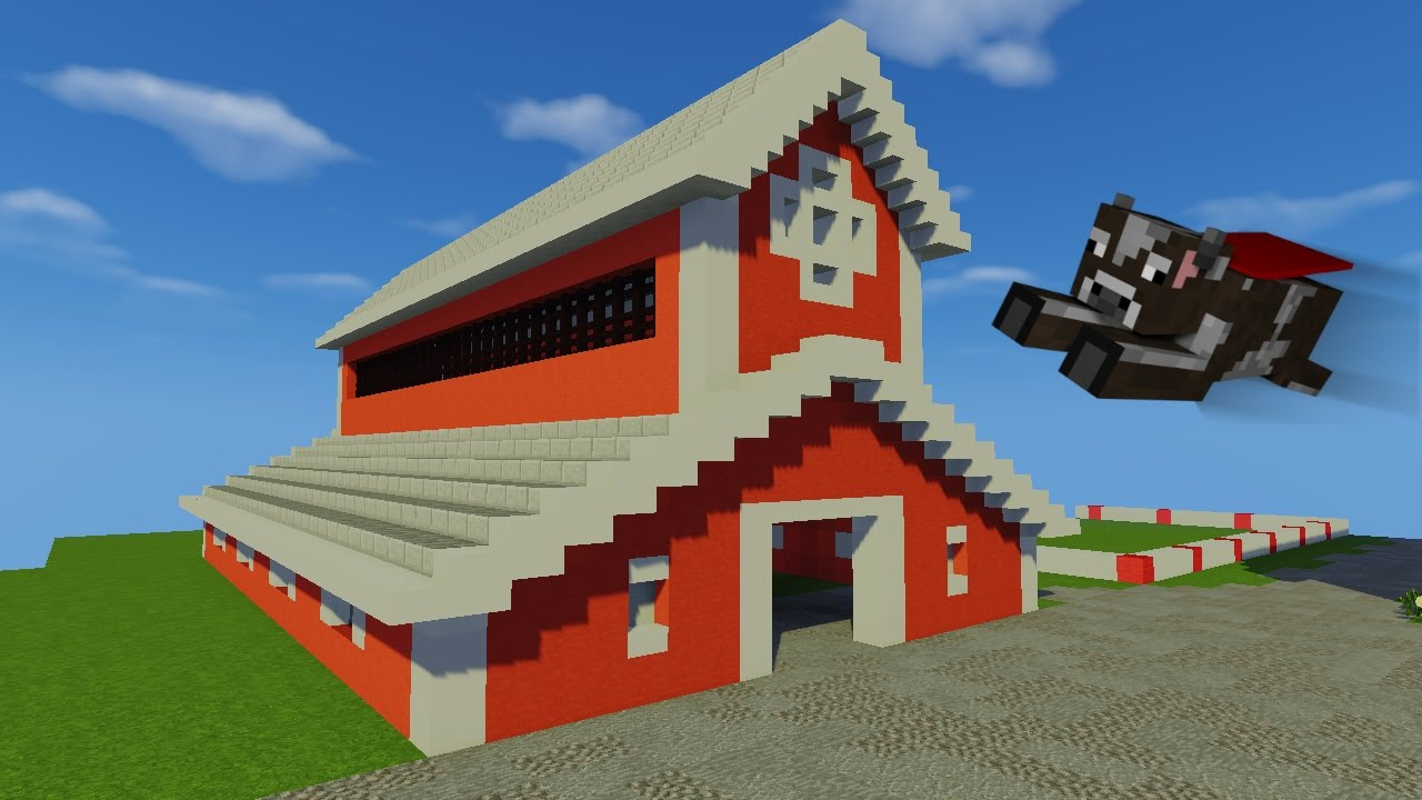 Tuto etable vache partie 1 ferme minecraft fr youtube for Minecraft tuto construction