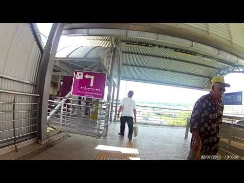 Terminal Bersepadu Selatan TBS - How to get to the Komuter Train Station