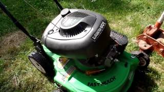 Lawn Boy mower Part 1