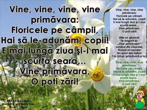 VINE PRIMĂVARA! – Cantece pentru copii in limba romana