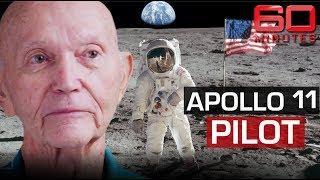 Apollo 11's 'third astronaut' reveals secrets from dark side of the moon | 60 Minutes Australia