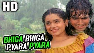 Bhiga Bhiga Pyara Pyara | Amit Kumar, Asha Bhosle | Jawaani 1984 Songs | Neelam, Karan Shah