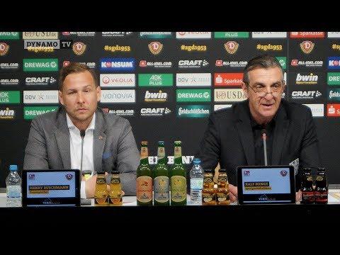 32. Spieltag | SGD - FCSP | Pressekonferenz vor dem Spiel