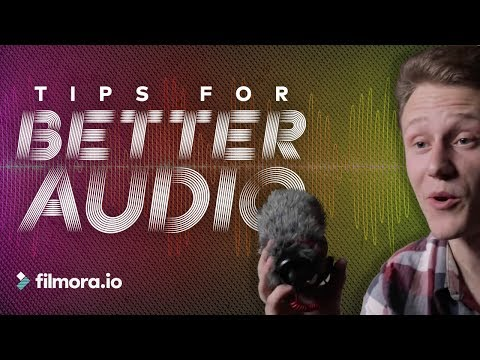 Outdoor Sound Recording Tips for Filmmakers | The Travel Series – filmora.io