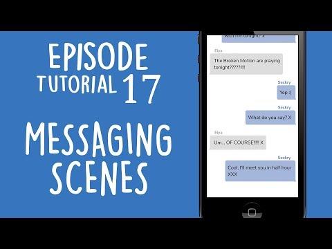 MESSAGING SCENES | Episode Limelight Tutorial 17