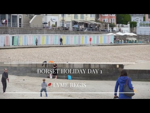 Dorset Holiday Day 1 - Lyme Regis and seeing our caravan!