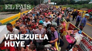 La frontera con Colombia, colapsada por venezolanos | Internacional
