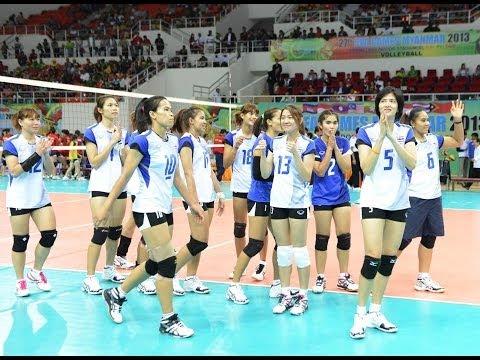 ไทย-เวียดนาม: วอลเลย์บอลหญิงซีเกมส์ 2013 รอบชิงชนะเลิศ: 21.12.2013