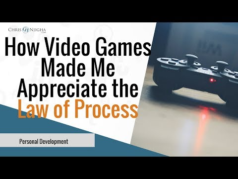 Motivation to Become an Entrepreneur: How Video Games Made Me Appreciate the Law of Process!