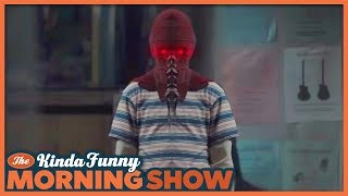 BrightBurn Trailer Reacts - The Kinda Funny Morning Show 12.11.18