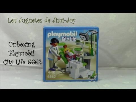 Unboxing 4 Playmobil City Life 6662. Historias de Playmobil. Ep. 4. David  Playmor en el dentista.
