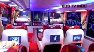 Kemewahan BUS No1 DI Indonesia SEMPATI STAR PANORAMIC Double Decker SDD