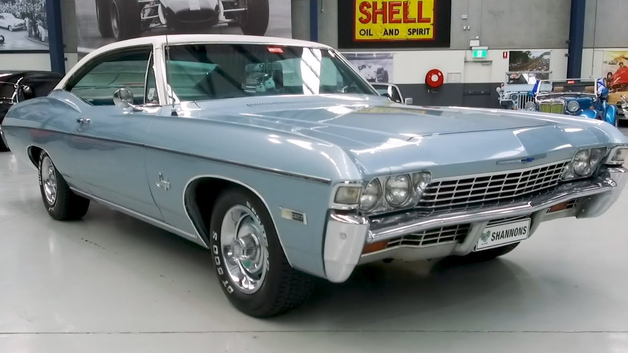 1968 Chevrolet Impala 327 V8 Fastback (LHD) - 2020 Shannons Winter Timed Online Auction