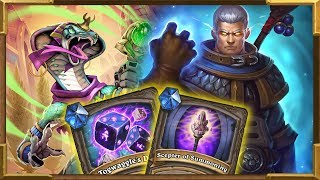 Hearthstone: The Most Broken Combo In Chapter 5 Of Dalaran Heist | Shaman
