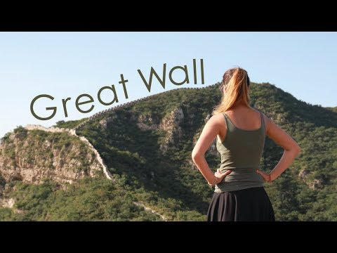 I SLEPT at the GREAT WALL of China!