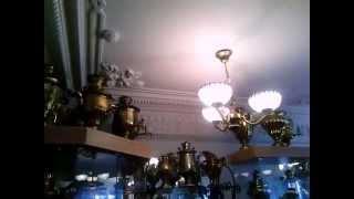 . Городец. Начало экскурсии по Музею самоваров (Нижегородская область)