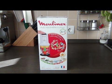 Измельчитель Moulinex 6в1 / распаковка, обзор, тестирование