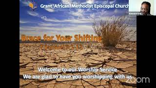 Bracing For Your Shifting; Worship Service, January 17 2021
