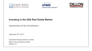Why invest in U.S. Real Estate?
