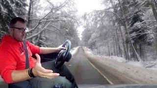 Как ездить и сдавать экзамены в ГИБДД зимой. (совет автоинструктора)