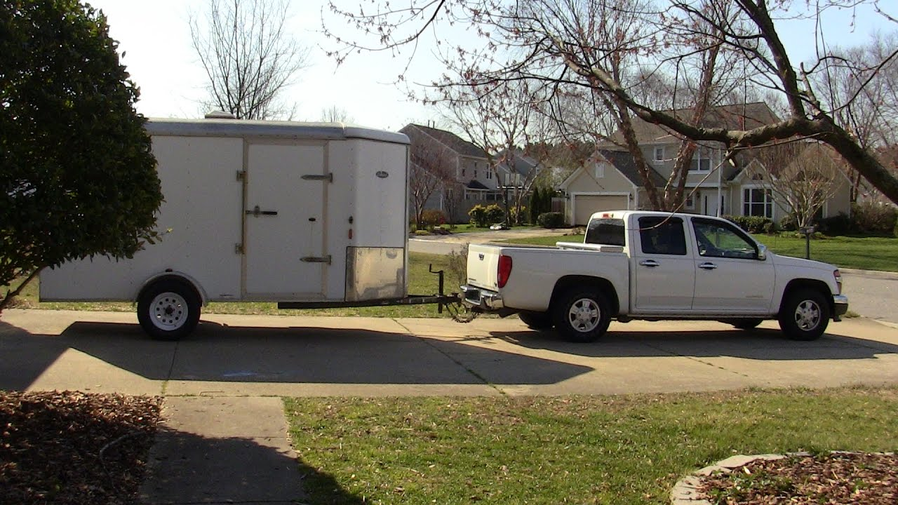 medium resolution of 4cyl midsize truck towing review are they any good