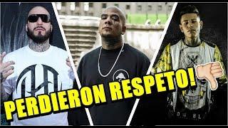 RAPEROS QUE PERDIERON RESPETO - MIRA EL PORQUE thumbnail