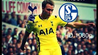 Christian Eriksen vs Schalke ● 09/08-2014 ● |1080p HD|