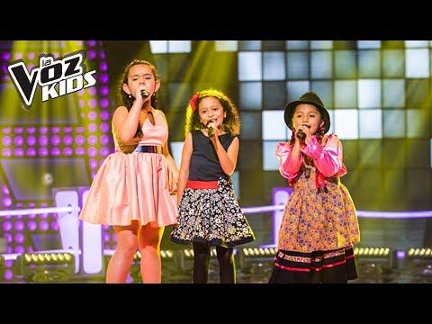 María Paula, La Carranguerita y Majo cantan No Tengo Dinero - Batallas | La Voz Kids Colombia 2018