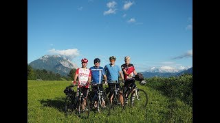 Alpenfreude, Kranjska Gora, Triglavski narodni park, Mangart, Gailtal, Dobratsch on Bicycles