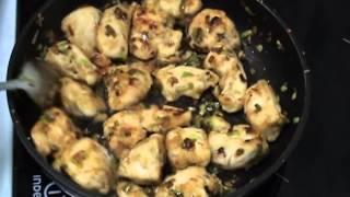 Куриная грудка жареная с яблоком (Кухня народов мира: простые кулинарные рецепты)