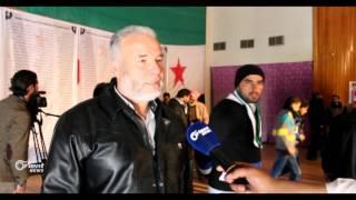 فعالية في مدينة جاسم بدرعا لاحياء ذكرى الثورة السادسة