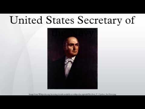 United States Secretary of the Navy