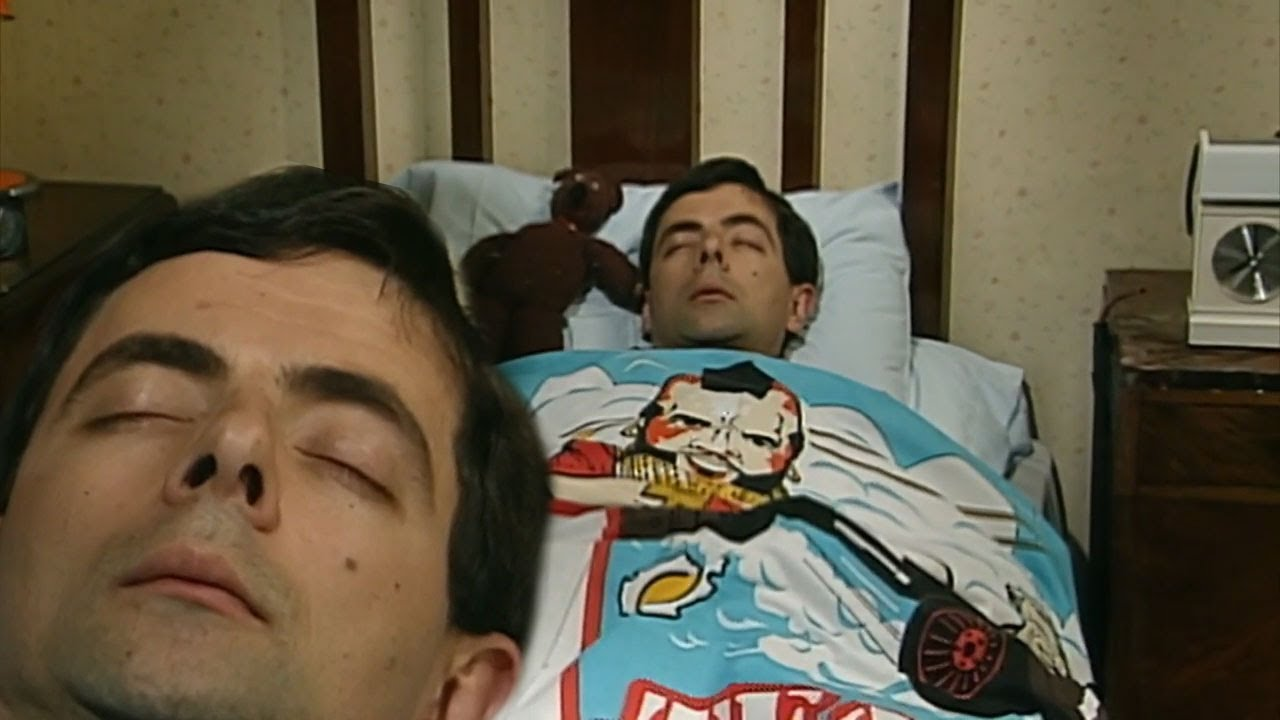 In Bed With Mr Bean | Mr Bean Full Episodes | Mr Bean Official | Classic Mr Bean