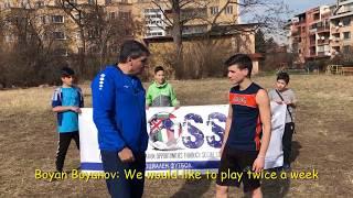 "CROSS: LEVSKI-Sport for all - Interview 2 - SUUUS ""Prof. Decho Denev"""