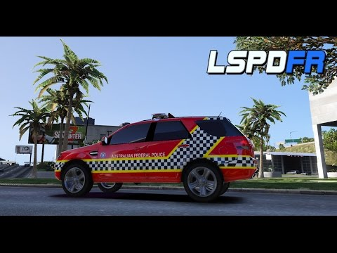 Grand Theft Auto V - Police Patrol! AFP | Project Caesar (Ford Territory)