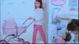 لعبة الطفل البيبي عربة بيبى و بيبى حقيقى يتكلم و يتحرك  العاب بنات و أولاد