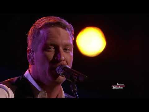 The Voice 2015 Barrett Baber   Top 10   I'd Love to Lay You Down