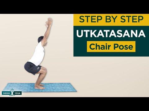 Utkatasana (Chair Pose) Benefits, How to Do & Contraindications by Yogi Sandeep Siddhi Yoga