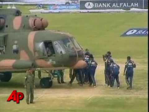 Sri Lankan Cricket Team Attacked in Pakistan,Lahore(liberty)