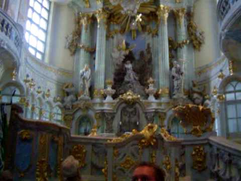 Inside Dresden's Frauenkirche