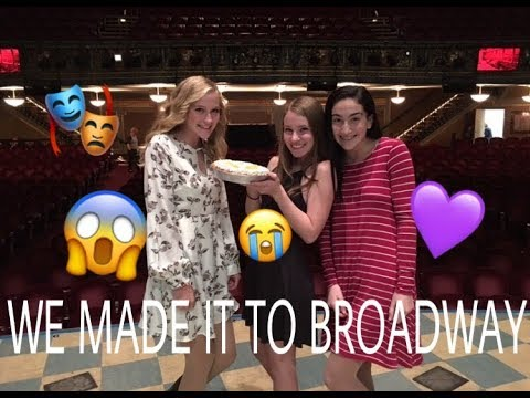 WE MADE IT TO BROADWAY | Dysfunctional Theater Kids