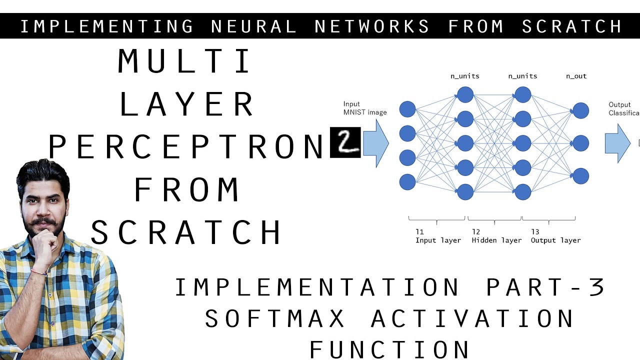 Coding Neural Network from Scratch Part 3- Softmax Function