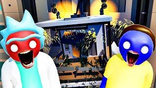 【屌德斯&小熙】 基佬大乱斗 全新人物场景瑞克和莫蒂遇惊天BUG电梯居然爆炸了!