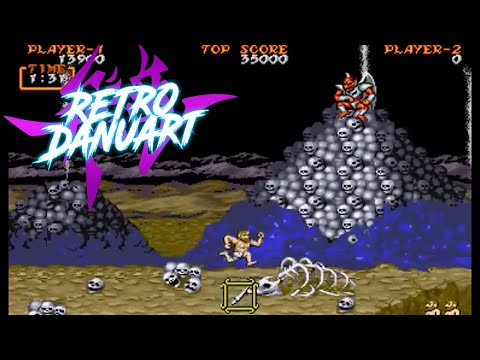 Ghouls'n Ghosts (Arcade) [Capcom]