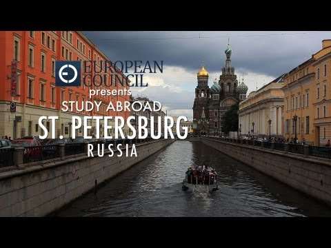 European Council Presents Saint Petersburg Study Abroad