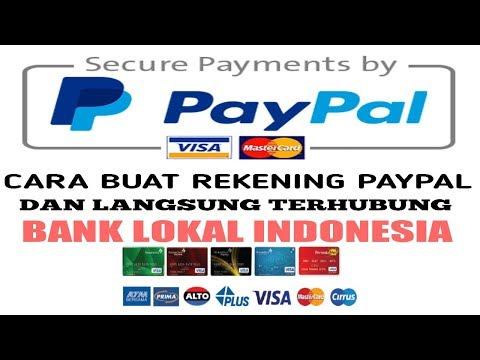 Cara daftar rekening Paypal tanpa kartu kredit