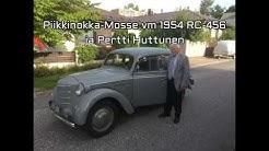 Piikkinokka Mosse vm 1954 ja Pertti
