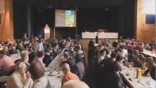 """""""Un nuevo Paradigma para la Supervivencia de la Civilización"""" - Apertura de la conferencia"""