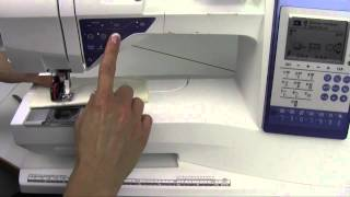 видео Husqvarna Viking Sapphire 930