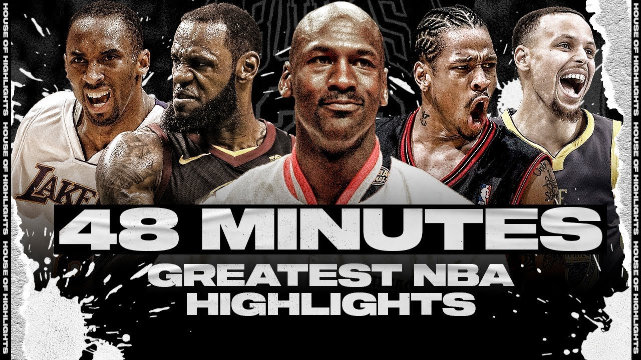 48 Minutes of the Greatest NBA Highlights to Keep You Entertained During Quarantine (HD)
